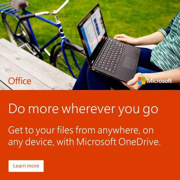 OnlineBanner office 365 do more